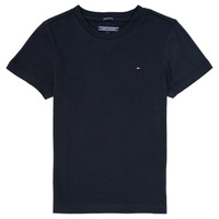 Textiel Jongens T-shirts korte mouwen Tommy Hilfiger  Marine