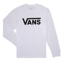Textiel Jongens T-shirts met lange mouwen Vans BY VANS CLASSIC LS Wit