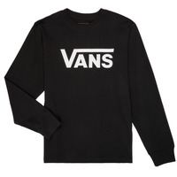 Textiel Jongens T-shirts met lange mouwen Vans BY VANS CLASSIC LS Zwart