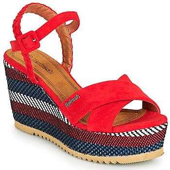 Schoenen Dames Sandalen / Open schoenen Refresh LOCKAL Rood