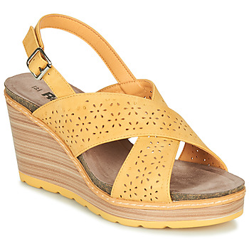 Schoenen Dames Sandalen / Open schoenen Refresh RILO Geel