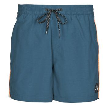 Textiel Heren Zwembroeken/ Zwemshorts Quiksilver BEACH PLEASE Blauw