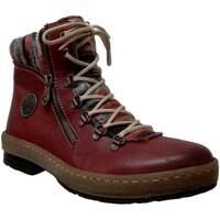 Schoenen Dames Laarzen Rieker Z6741 Rood