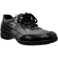Schoenen Dames Lage sneakers Rieker L4320 Zwart