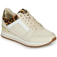 Schoenen Dames Lage sneakers MICHAEL Michael Kors BILLIE Beige / Luipaard