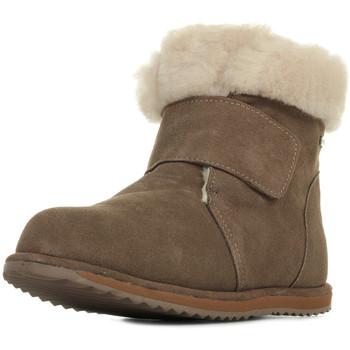 Schoenen Meisjes Snowboots EMU Sommers Kids Bruin