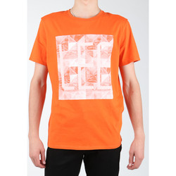 Textiel Heren T-shirts & Polo's Lee Logo Tee L63GAIMO orange