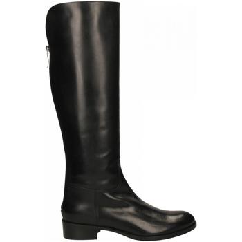 Schoenen Dames Hoge laarzen Lorenzo Masiero VITELLO nero