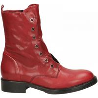 Schoenen Dames Laarzen Fabbrica Dei Colli 511 WOOD 00006-rosso