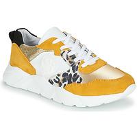 Schoenen Dames Lage sneakers Philippe Morvan VIRGIL Geel / Wit