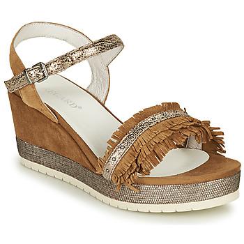 Schoenen Dames Sandalen / Open schoenen Regard DURTAL V2 CROSTA CUOIO Bruin