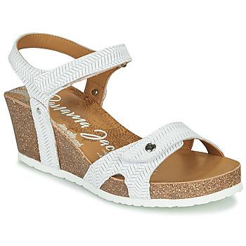 Schoenen Dames Sandalen / Open schoenen Panama Jack JULIA Wit