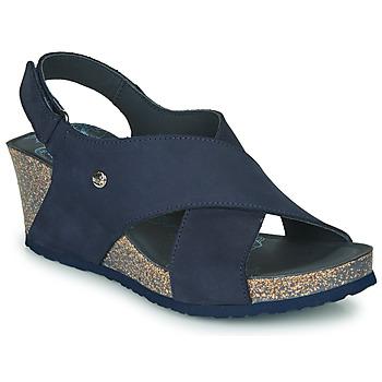 Schoenen Dames Sandalen / Open schoenen Panama Jack VALESKA Blauw