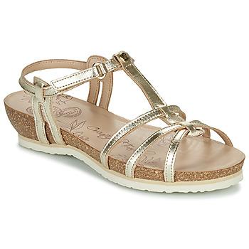 Schoenen Dames Sandalen / Open schoenen Panama Jack DORI Goud