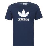 Textiel Heren T-shirts korte mouwen adidas Originals  Marine