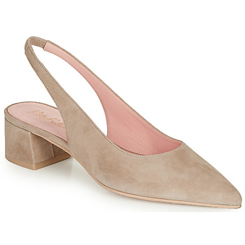 Schoenen Dames pumps Pretty Ballerinas ANGELIS SAFARI Beige