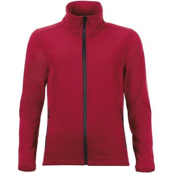 Textiel Dames Trainings jassen Sols RACE WOMEN SOFTSHELL Rojo