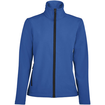Textiel Dames Trainings jassen Sols RACE WOMEN SOFTSHELL Azul