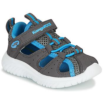 Schoenen Kinderen Sandalen / Open schoenen Kangaroos KI-Rock Lite EV Grijs / Blauw