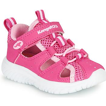 Schoenen Meisjes Sandalen / Open schoenen Kangaroos KI-ROCK LITE EV Roze