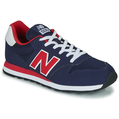 new balance 500 heren rood