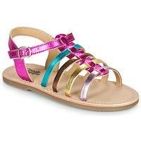 Schoenen Meisjes Sandalen / Open schoenen Citrouille et Compagnie MAYANA Multicolour