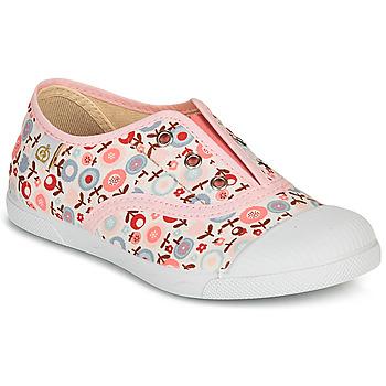 Schoenen Meisjes Lage sneakers Citrouille et Compagnie RIVIALELLE Roze / Multicolour