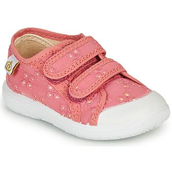 Schoenen Meisjes Lage sneakers Citrouille et Compagnie MELVINA Roze