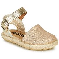 Schoenen Meisjes Sandalen / Open schoenen Citrouille et Compagnie MIOSOTIS Goud
