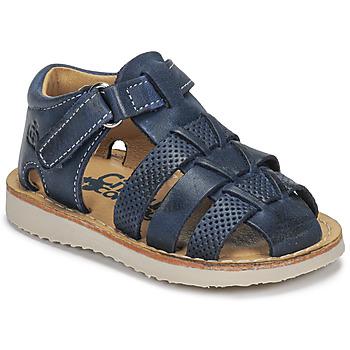 Schoenen Jongens Sandalen / Open schoenen Citrouille et Compagnie MISTIGRI Marine