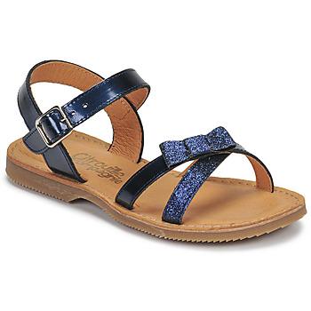 Schoenen Meisjes Sandalen / Open schoenen Citrouille et Compagnie JISCOTTE Marine