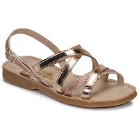Schoenen Meisjes Sandalen / Open schoenen Citrouille et Compagnie GENTOU Brons / Glitter