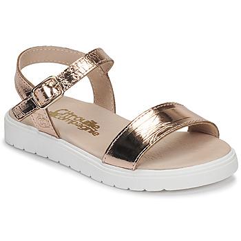 Schoenen Meisjes Sandalen / Open schoenen Citrouille et Compagnie GAPOTI Brons