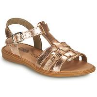 Schoenen Meisjes Sandalen / Open schoenen Citrouille et Compagnie ROLUI Brons