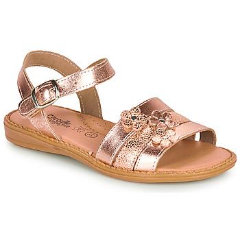 Schoenen Meisjes Sandalen / Open schoenen Citrouille et Compagnie KATAGUE Brons