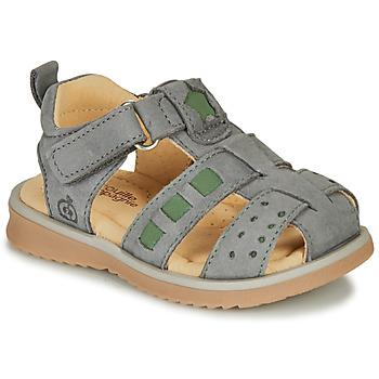Schoenen Jongens Sandalen / Open schoenen Citrouille et Compagnie MERKO Kaki