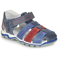 Schoenen Jongens Sandalen / Open schoenen Citrouille et Compagnie MARIDO Blauw