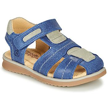 Schoenen Jongens Sandalen / Open schoenen Citrouille et Compagnie MABILOU Blauw