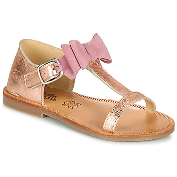 Schoenen Meisjes Sandalen / Open schoenen Citrouille et Compagnie MELINDA Zilver
