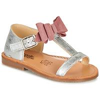 Schoenen Meisjes Sandalen / Open schoenen Citrouille et Compagnie MELINDA Roze / Goud