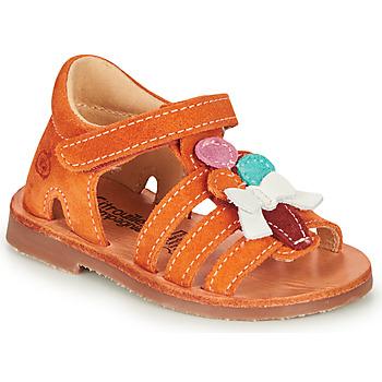 Schoenen Meisjes Sandalen / Open schoenen Citrouille et Compagnie MIETTE Oranje