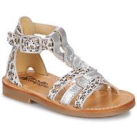 Schoenen Meisjes Sandalen / Open schoenen Citrouille et Compagnie GITANOLO Luipaard