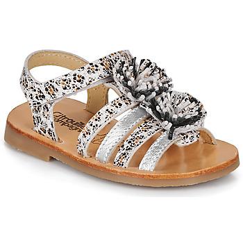 Schoenen Meisjes Sandalen / Open schoenen Citrouille et Compagnie MALINETTE Luipaard