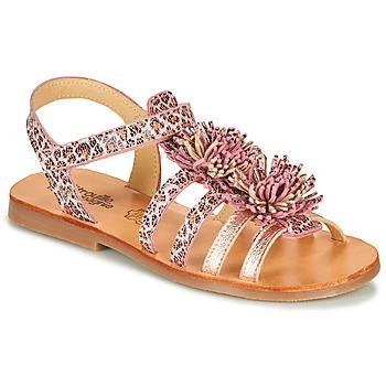 Schoenen Meisjes Sandalen / Open schoenen Citrouille et Compagnie MARINAS Roze