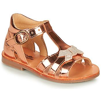 Schoenen Meisjes Sandalen / Open schoenen Citrouille et Compagnie MINIMOME Brons
