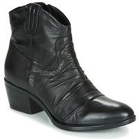 Schoenen Dames Laarzen Mjus DALLAS-DALLY Zwart