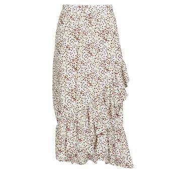 Textiel Dames Rokken Betty London  Wit / Rood