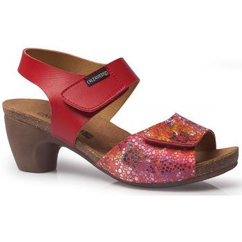 Schoenen Dames Sandalen / Open schoenen Calzamedi S  SUMMER 2019 RED