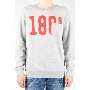 Textiel Heren Fleece Lee Pocket Crew SWS L81APP37 grey, red