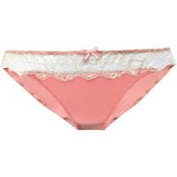 Ondergoed Dames Slips Lascana Korte Londra  roze Lichtroze
